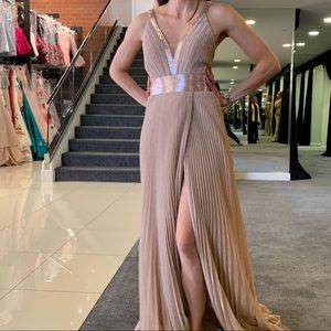 Jovani Rose Gold Gown